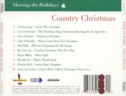 Sharing the Holidays: Country Christmas
