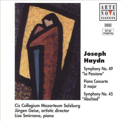 Joseph Haydn: Symphonies Nos. 49