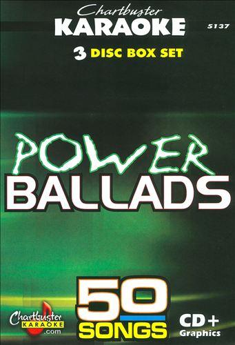 Chartbuster Karaoke: Power Ballads