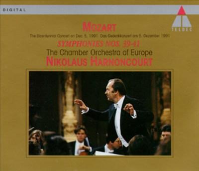 Mozart: Symphony Nos. 39, 40 & 41