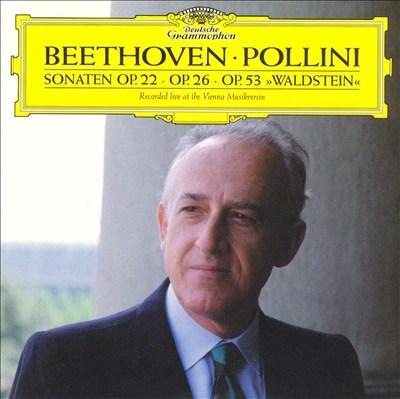 Beethoven: Sonaten, Op. 22, 26 & 23