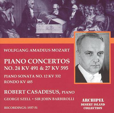 Mozart: Piano Concertos Nos. 24 & 27; Piano Sonata No. 12; Rondo