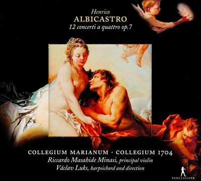 Henrico Albicastro: 12 concerti a quattro op. 7