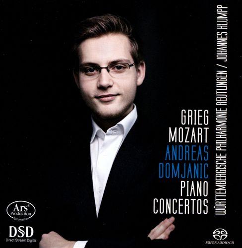 Grieg, Mozart: Piano Concertos