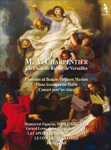 M.A. Charpentier à la Chapelle Royale de Versailles