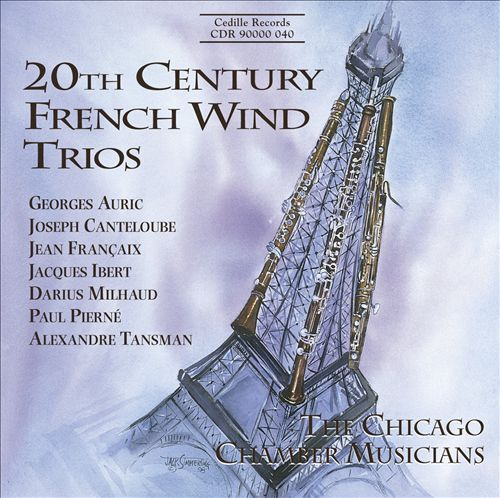 20th Century French Wind Trios