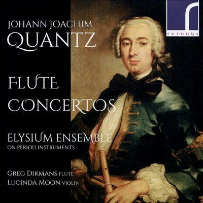 Johann Joachim Quantz: Flute Concertos