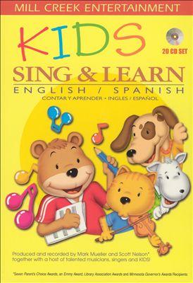 Kids Sing & Learn English/Spanish [20 CD Set]