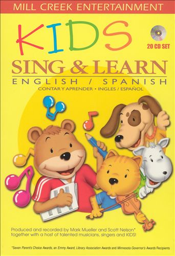 Kids Sing & Learn English/Spanish [20 CD Set]