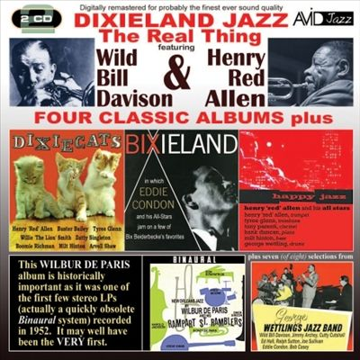Dixieland Jazz: Four Classic Albums Plus
