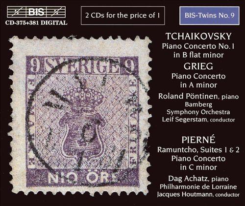Grieg, Tchaikovsky, Pierné: Piano Concertos