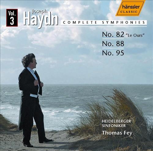 Haydn: Complete Symphonies, Vol. 3 - Nos. 82, 88, 95