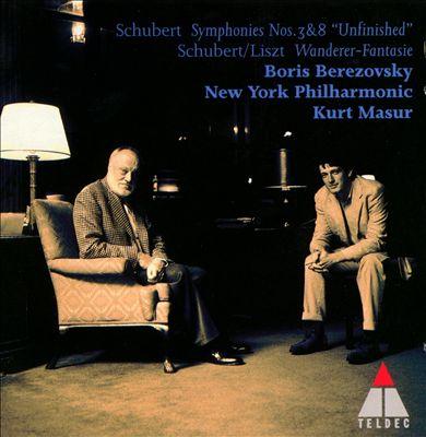 Schubert: Fantasia in C D760, Op15; Symphony in D No3, D200