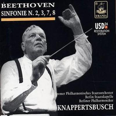 Beethoven: Sinfonie N. 2, 3, 7 & 8