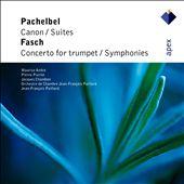 Pachelbel: Canon; Suites; Fasch: Concerto for trumpet; Symphonies