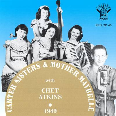 Carter Sisters and Mother Maybelle With Chet Atkins