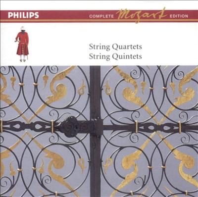 Mozart: String Quartets; String Quintets [Box Set]