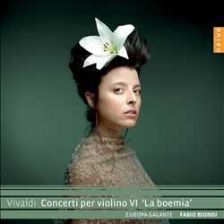 "Vivaldi: Concerti per violino VI ""La boemia"""