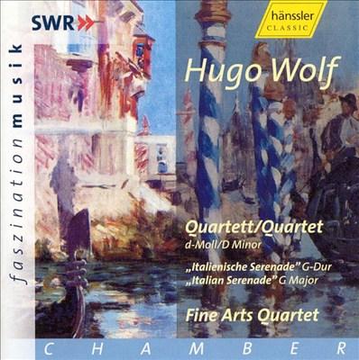 Wolf: Quartet; Italian Serenade