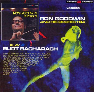 In Concert/Play Burt Bacharach