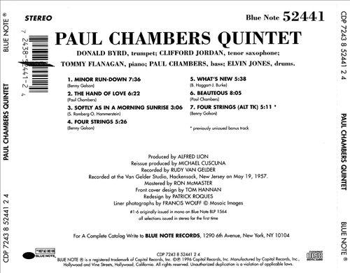 Paul Chambers Quintet