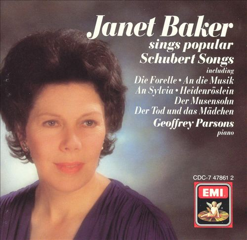 Janet Baker sings popular Schubert Songs