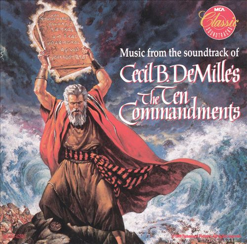 The Ten Commandments [Original Motion Picture Soundtrack] [MCA]