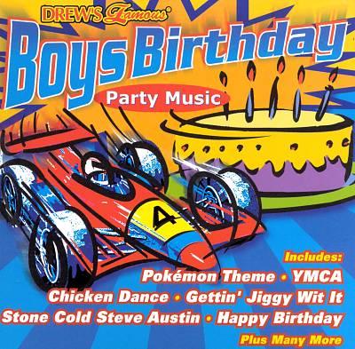 Drew's Famous Party Music: Boys Birthday