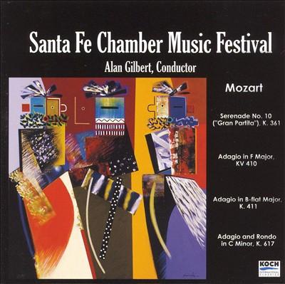Mozart: Gran Partita; Adagio in F major, Adagio in B flat major; Adagio & Rondo