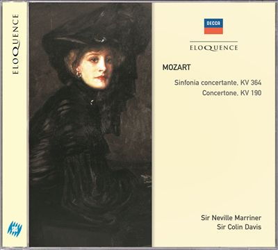 Mozart: Sinfonia Concertante; Concertone for 2 Violins
