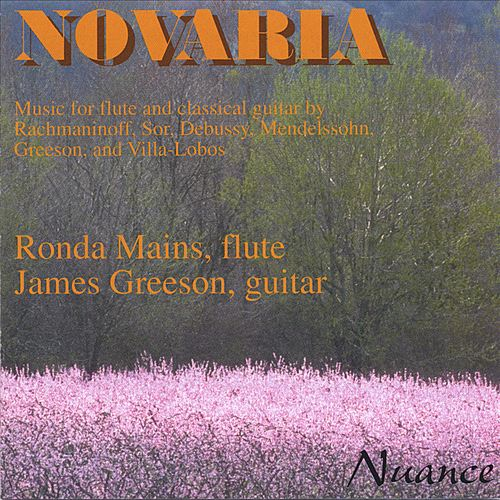 Music for Flute & Guitar by Rachmaninoff, Sor, Debussy, Mendelssohn, Greeson & Villa-Lobos