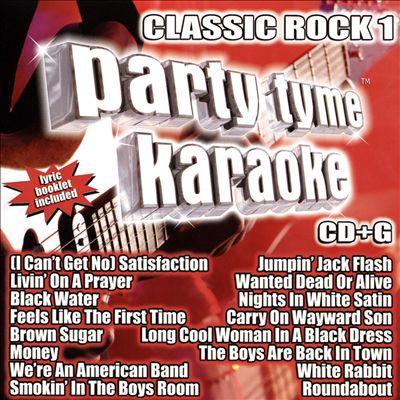 Party Tyme Karaoke: Classic Rock, Vol. 1