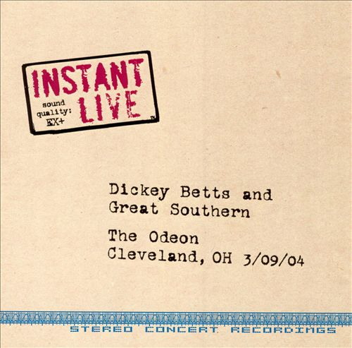 Instant Live: The Odeon - Cleveland, OH, 3/09/04