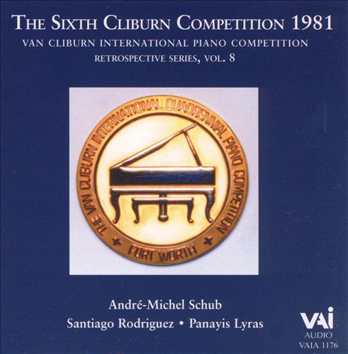 Van Cliburn Competion 1981