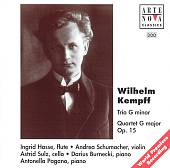 Wilhelm Kempff: Trio G minor; Quartet G major Op. 15