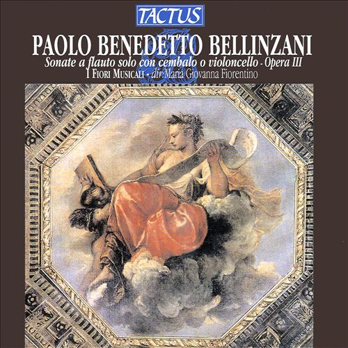 Paolo Benedetto Bellinzani: Sonate a flauto, Op. 3