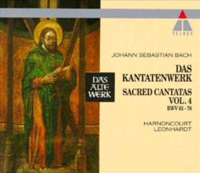 Bach: Sacred Cantatas, Vol. 4 - BWV 61-78