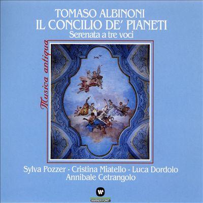 Tomaso Albinoni: Il Concilio de' Pianeti - Serenata a Tre Voci