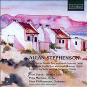 Allan Stephenson: Bass Concerto: Burlesque for double bass; Cello Concerto