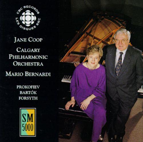 Prokofiev, Bartók, Forsyth: Piano Concertos