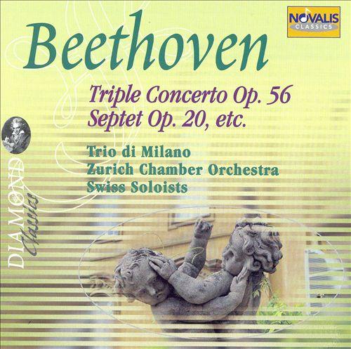 Beethoven: Triple Concerto Op. 56; Septet Op. 20; Etc.