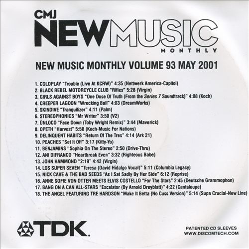 CMJ New Music, Vol. 93