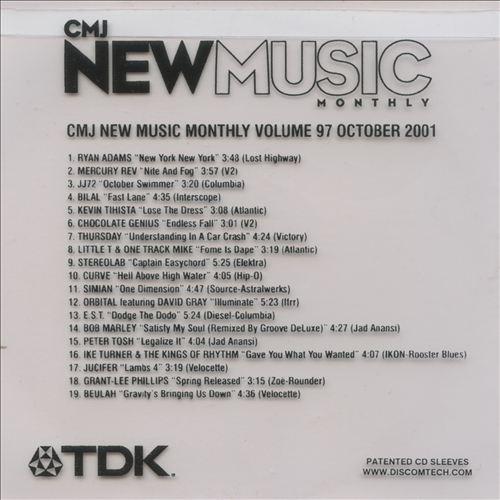CMJ New Music, Vol. 97