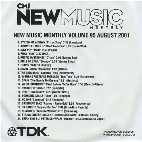 CMJ New Music, Vol. 95