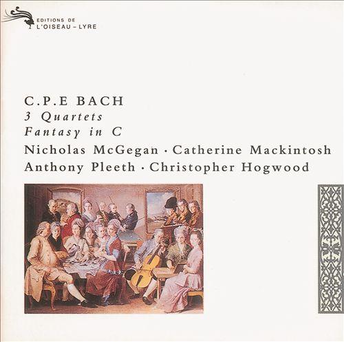 C.P.E. Bach: 3 Quartets; Fantasy in C