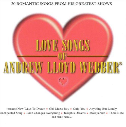 Love Songs of Andrew Lloyd Webber [Crimson]