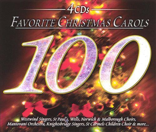 100 Favorite Christmas Carols