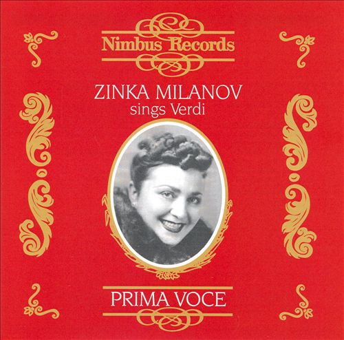 Zinka Milanov sings Verdi