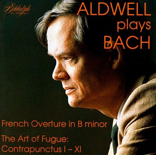 Aldwell Plays Bach