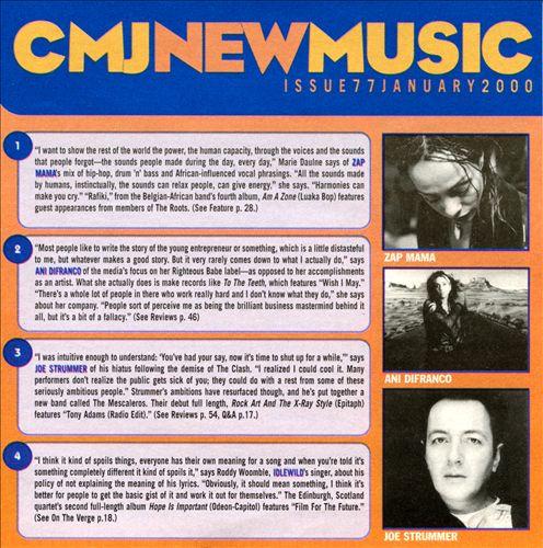 CMJ New Music, Vol. 77